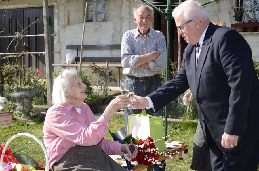 Sto let Marije Reberšak z Armeškega