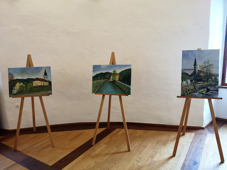 "Odprtje razstave ""Ex-tempore Rajhenburg 2019"""