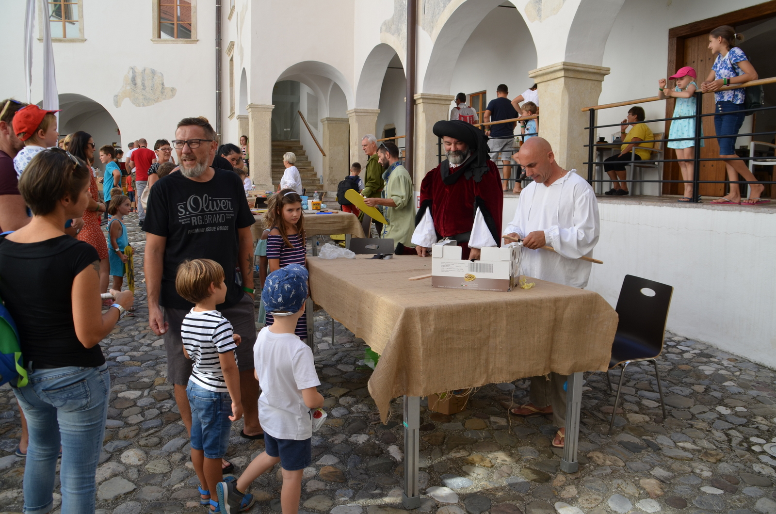 7. srednjeveški dan na gradu Rajhenburg